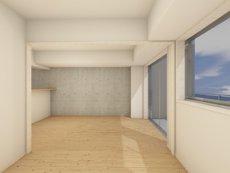 1-8号室 洋室