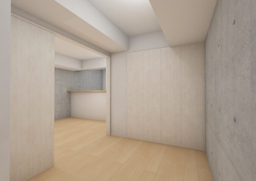あさひグランレジデンシア高崎Ⅱ205洋室