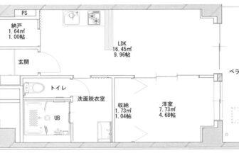 あさひグランレジデンシア高崎Ⅰ-06平面図