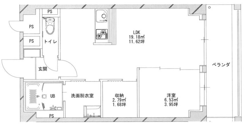あさひグランレジデンシア高崎Ⅰ-08平面図