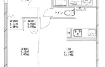 あさひグランレジデンシア1-01平面図