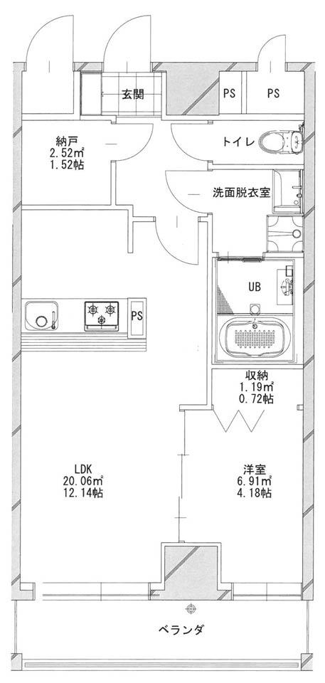 あさひグランレジデンシア高崎Ⅱ-05平面図