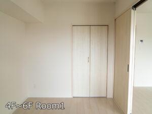 Ⅰ棟Aタイプ 居室1 4~6階