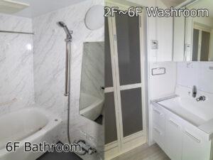 Ⅰ棟Aタイプ お風呂・洗面 2~5階