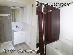 Cタイプ 洗面・お風呂