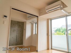 Ⅰ棟Dタイプ 居室 2.3階