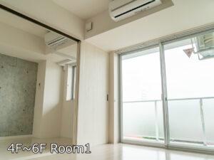 Ⅰ棟Dタイプ 居室 4~6階