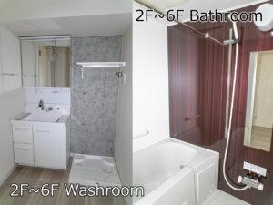 Ⅰ棟Dタイプ 洗面所.お風呂